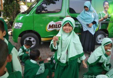Sehat bersama Milo di Taskia