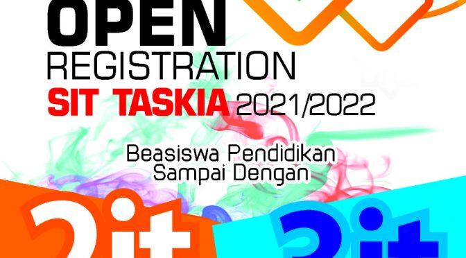BEASISWA PENDIDIKAN PPDB SIT TASKIA TAHUN PELAJARAN 2021/2022
